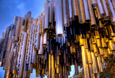 The Sibelius Pipes