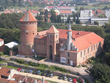 Castle in Reszel, Poland