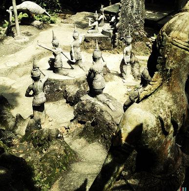 Secret Buddha Garden, Ko Samui