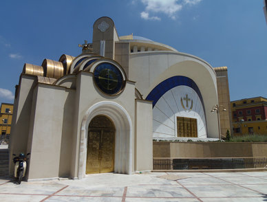 """Katedralja ortodokse """"Ngjallja e Krishtit"""""""