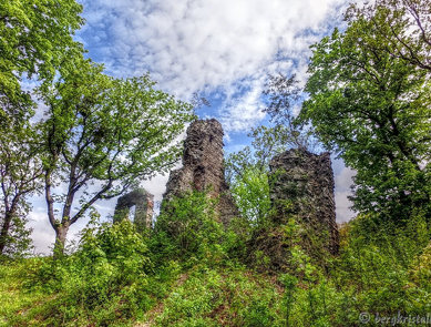 Ruine der Stecklenburg