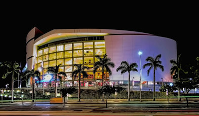AmericanAirlines Arena, 601 Biscayne Boulevard, Miami, Florida, U.S.A. / Architect(s): Arquitectonic