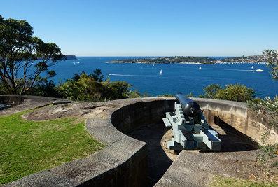 Defending the harbour entrance
