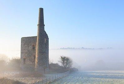 Mist at Wheal Bush