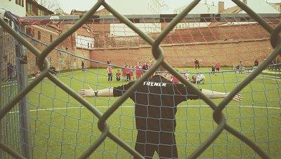 A coach Football Sport Streetphotography