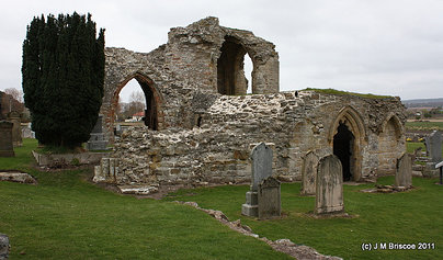 Kinloss Abbey And Burial Ground