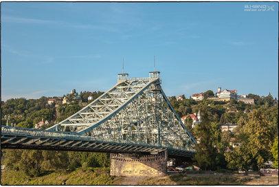 Dresden - Blaues Wunder und Luisenhof