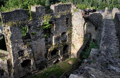 les ruines de septfontaines