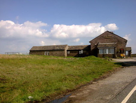 The legendary Cat and Fiddle