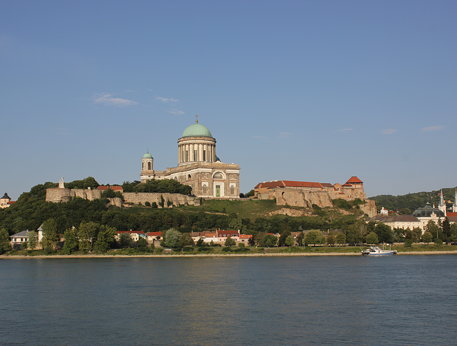 Esztergom fortress exterior