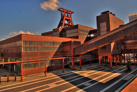 Glückauf; Zeche Zollverein