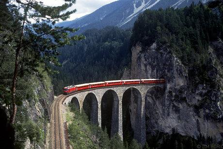 Landwasserviaduct