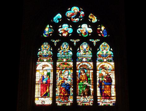 Colorful Church Window