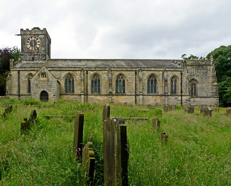 All Saints, Harewood