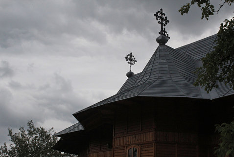 New Church in Arbore, Jud. Suceava, Romania
