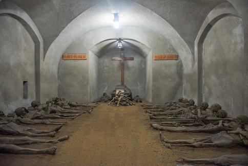 Capuchin Crypt, Brno, Czech Republic.