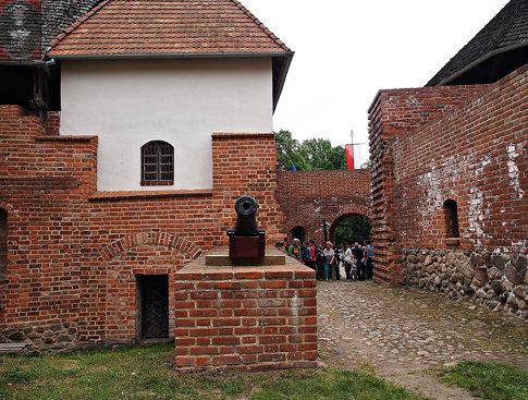 castle in Miedzyrzecz Poland