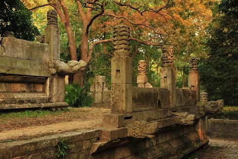 南京, 明孝陵, The Ming Tomb, ZhongshanMountain, Nanjin, China, DSC_6757