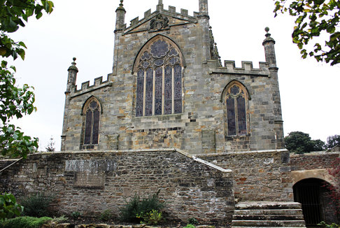 The Palace Chapel: the East End