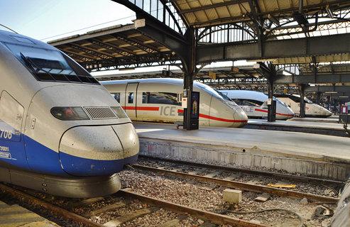 2017-03-28  Paris - Gare de l'Est - TGV - ICE