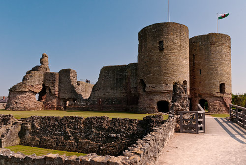 Rhuddlan Castle - Towers