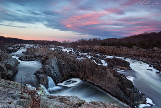 Sunset at Great Falls