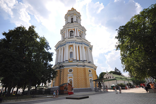 Great Lavra Bell Tower with its four tiers