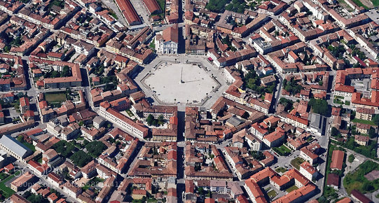 Palmanova, the perfect city