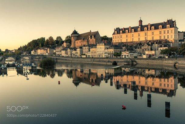 Laval at sunrise
