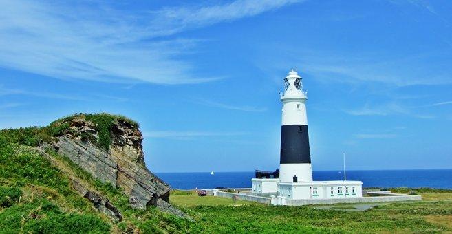 Braye - Alderney Lighthouse