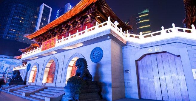 Shanghai - Jing'an Temple