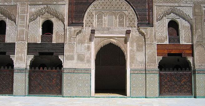 Fès - Madrasa Bū ʿInānīya von Fès