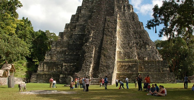 Tikal - Tikal nationalpark