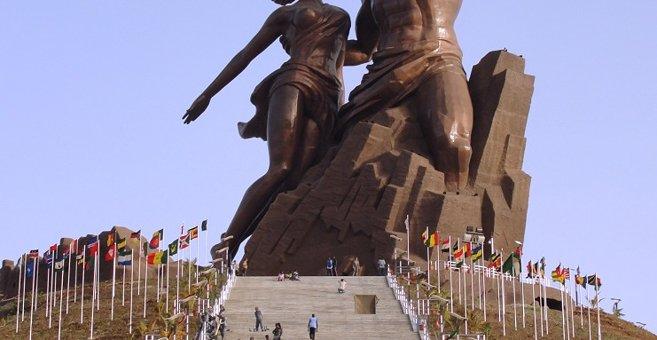 Ouakam - Monument de la Renaissance africaine