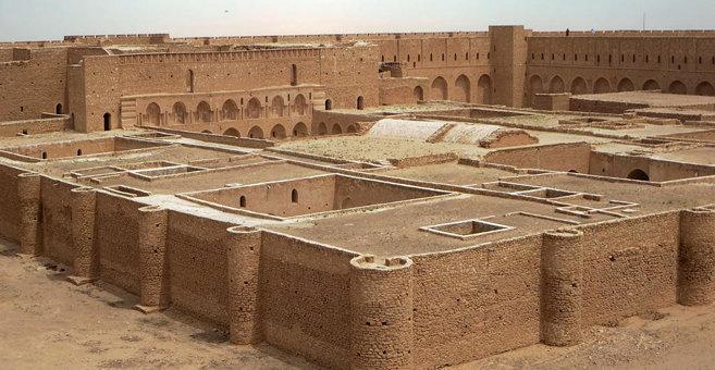 اخيضر - Al-Ukhaidir Fortress