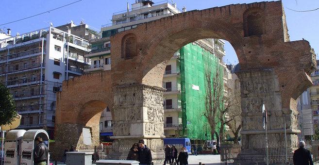 Thessaloniki - Boog van Galerius
