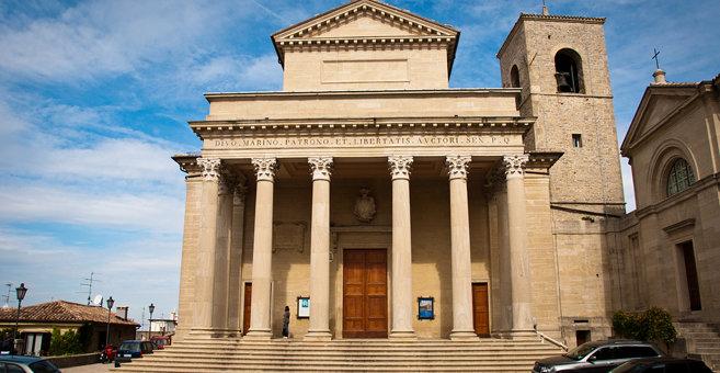 San Marino - Bazylika świętego Maryna w San Marino