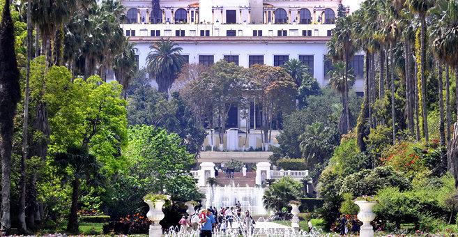 Algiers - Botanical Garden Hamma