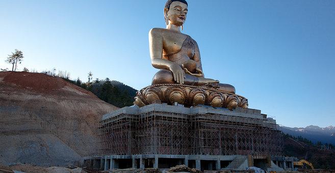 Tshalunang - Buddha Dordenma statue