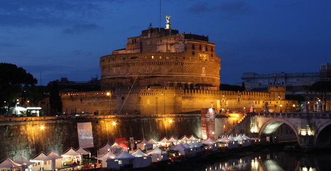Rzym - Zamek Świętego Anioła