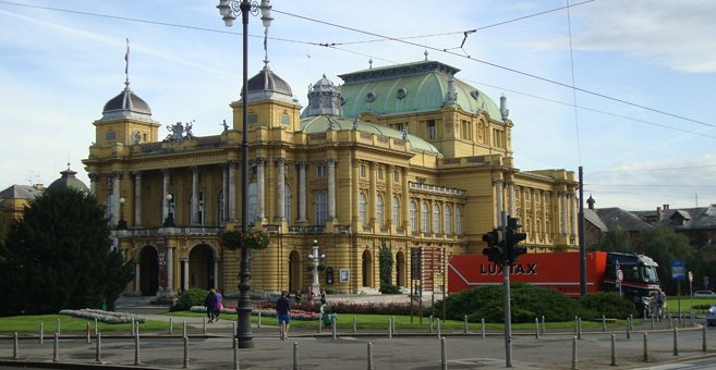 ザグレブ - Croatian National Theatre in Zagreb