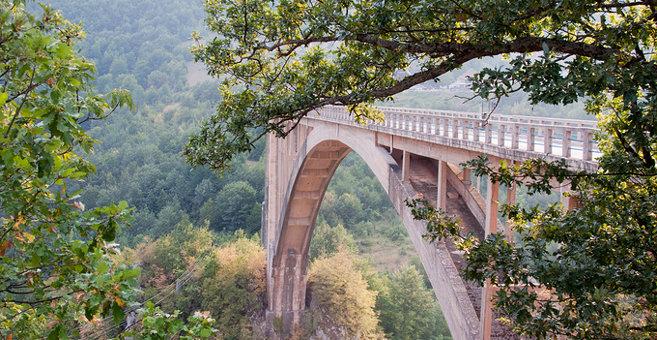 Trešnjica - Đurđevića Tara Bridge