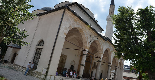 サラエボ - Gazi Husrevbegova džamija, Sarajevo
