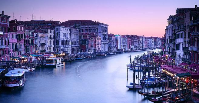Wenecja - Kanał Grande
