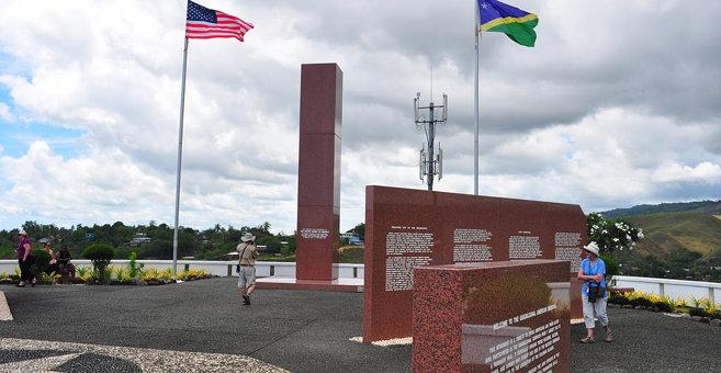 Honiara - Guadalcanal American Memorial