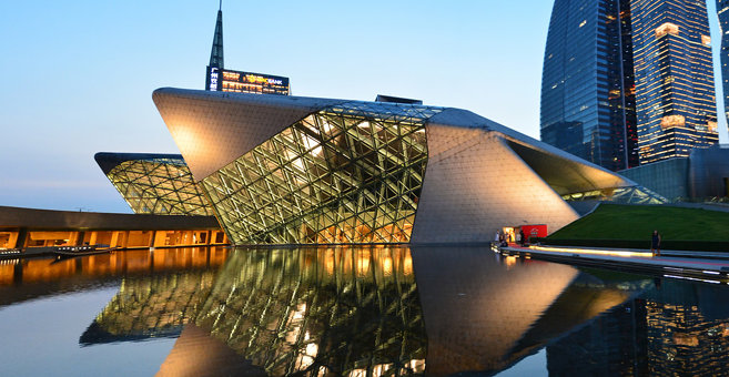گوانگژو - Guangzhou Opera House