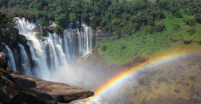 Quiambata - Kalandula Falls