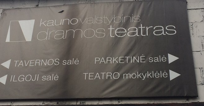 Kaunas - Kaunas State Drama Theatre