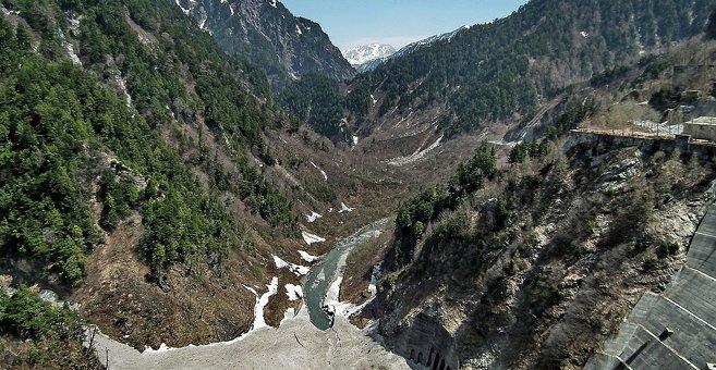 Japan - Kurobe dam