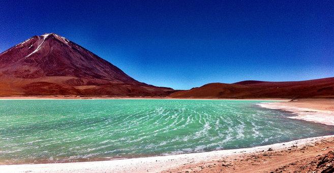 Chaxas - Laguna Verde (Bolivia)